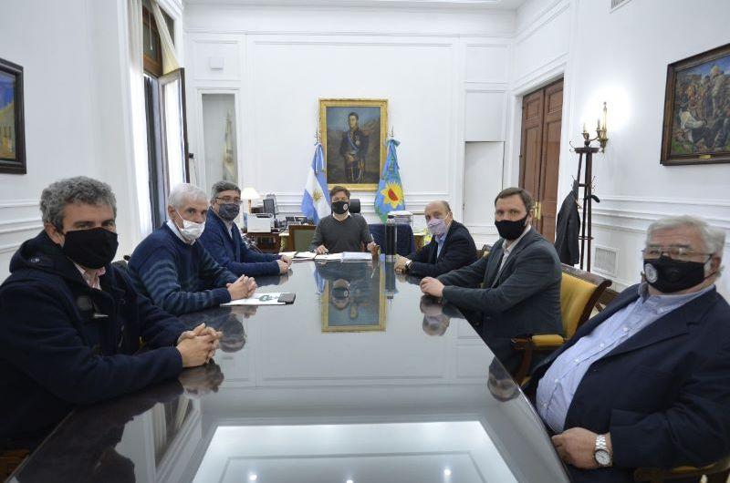 Kicillof recibió a la comisión directiva de CARBAP