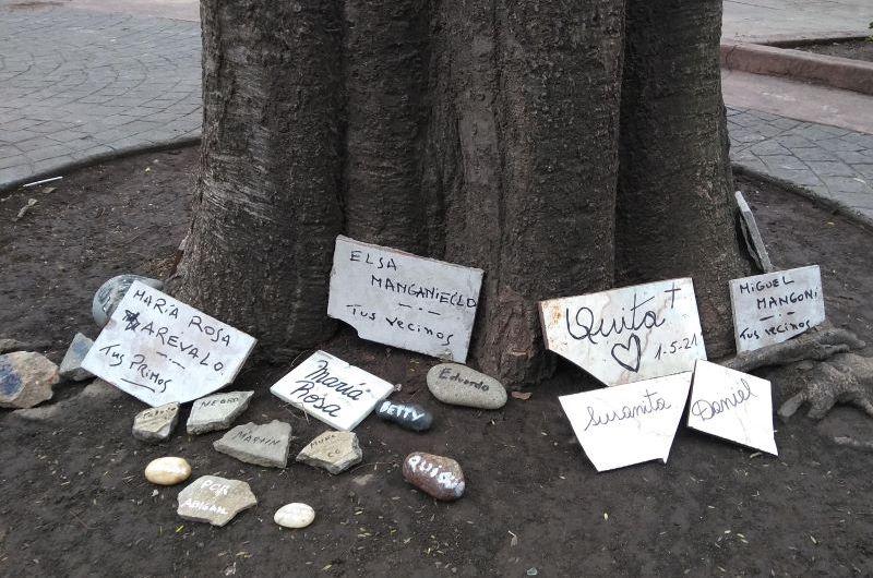 Nuevo homenaje a los fallecidos por covid