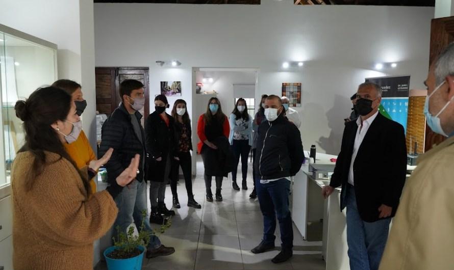 Visita a la obra de lo que será el Hogar Villa Juanita