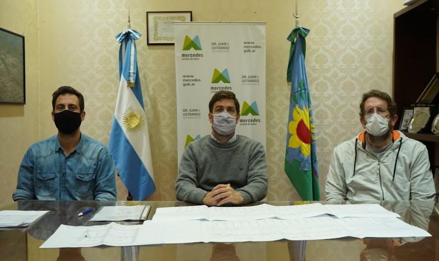 Ustarroz firmó el inicio de otras 14 obras de pavimento para nuestra ciudad