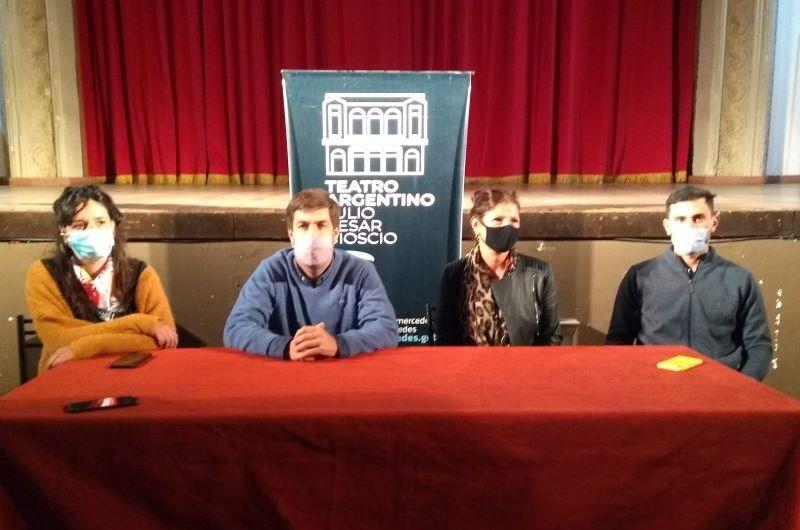 Reinician las actividades en el Teatro Argentino con Lesionados