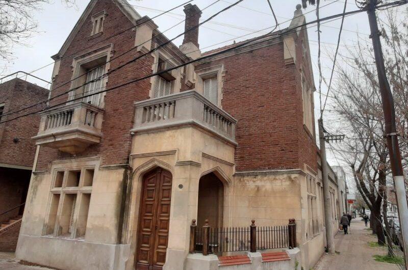 Fachadas mercedinas: ex casa del Doctor Silva