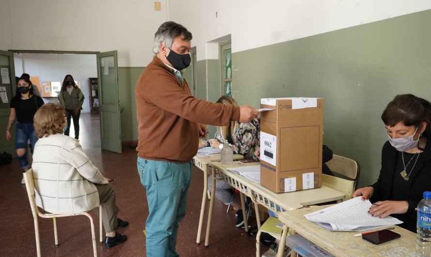 El Diputado Selva destacó la organización y la importancia del acto electoral