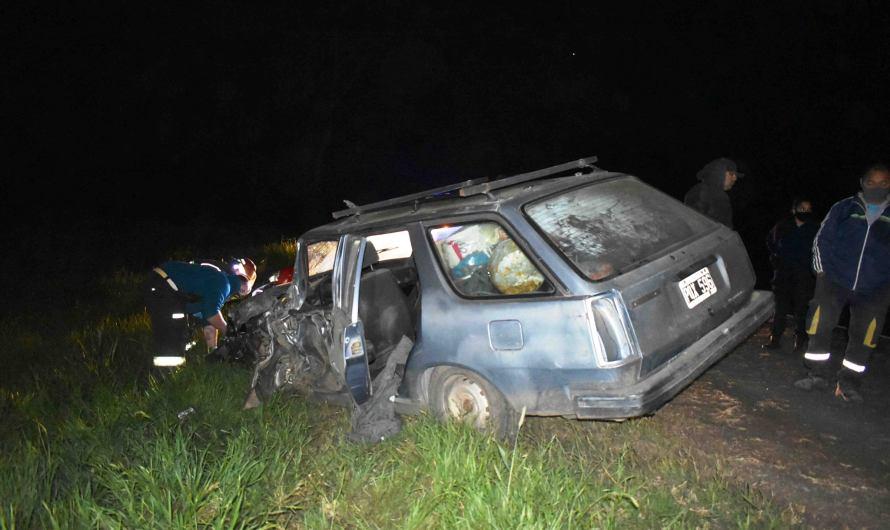 Violento siniestro vial en Ruta Nacional Nº5