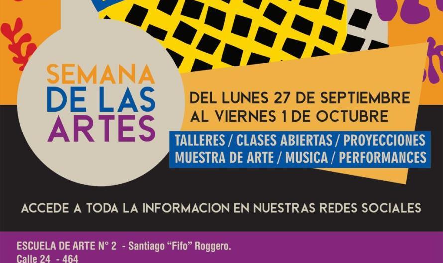 Semana de las Artes abierta al público en la Escuela «Fifo Roggero»