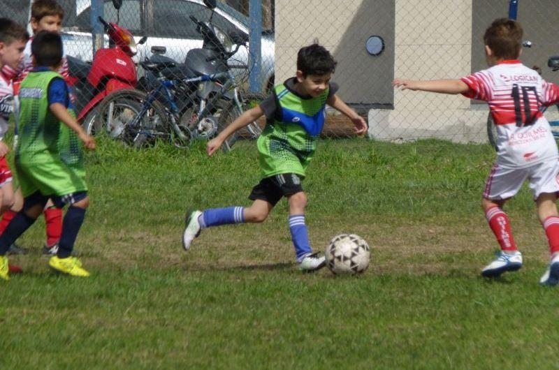 Futbol infanto juvenil: Solo dos cruces para las inferiores