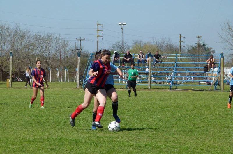 Segunda fecha del Futbol Femenino en la Liga Mercedina