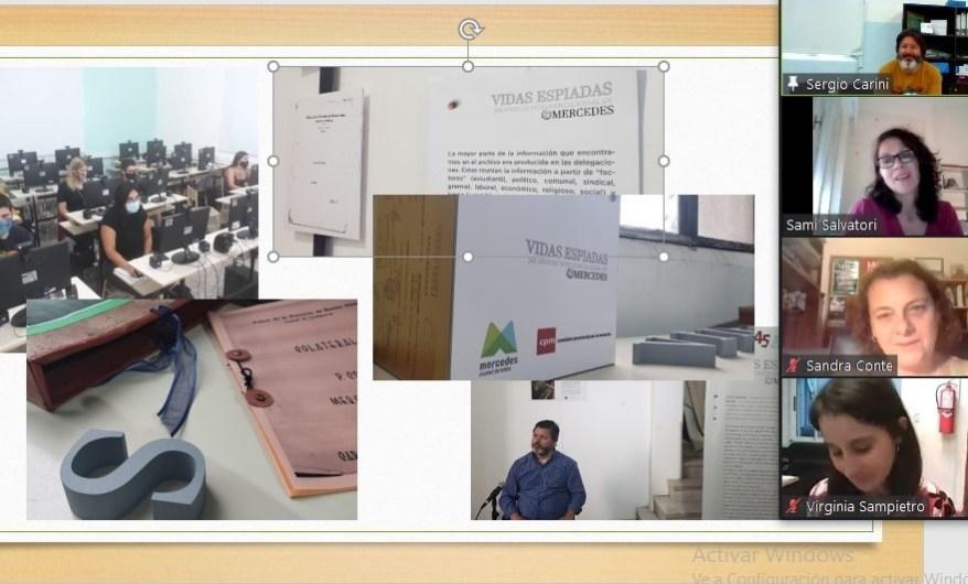 Presentan en Seminario Internacional el Archivo Municipal de la Memoria