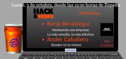 Hack and Beers Bilbao emitido en directo por Hoy streaming