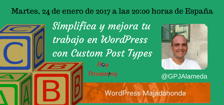 Custom Post Types en WordPress