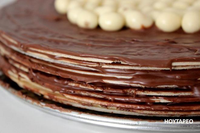 tarta fácil de nutella