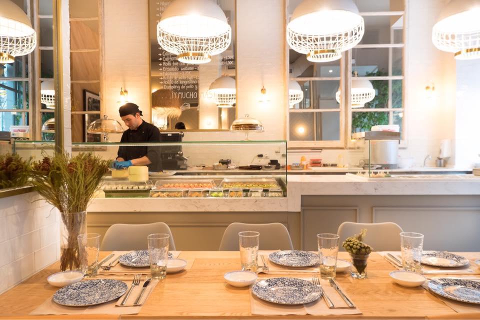 interior restaurante sushita