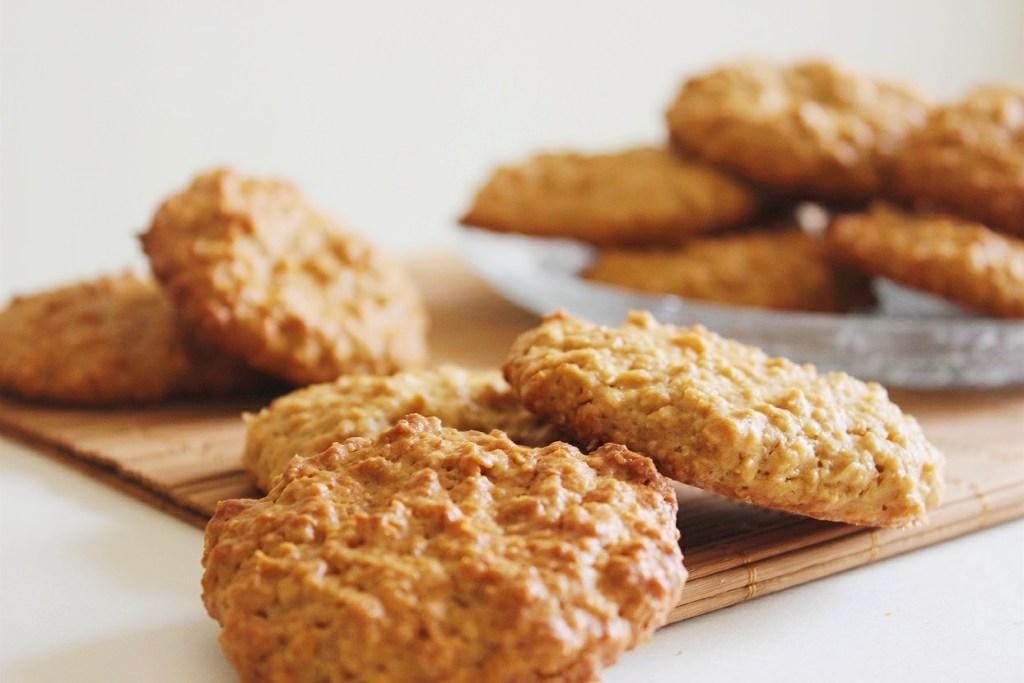 galletas de avena saludables