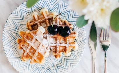 como se hacen los waffles
