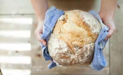 receta de pan casero facil