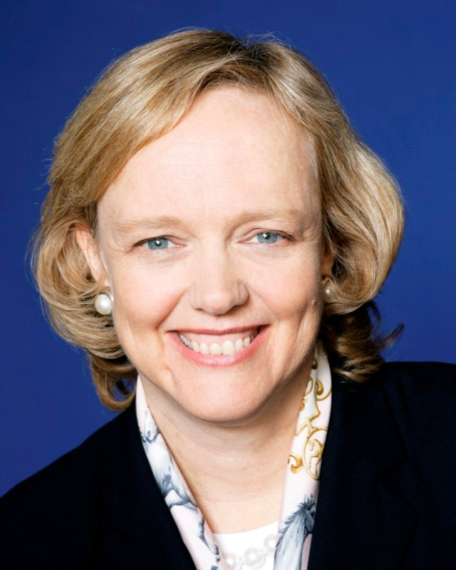 Meg Whitman CEO HP
