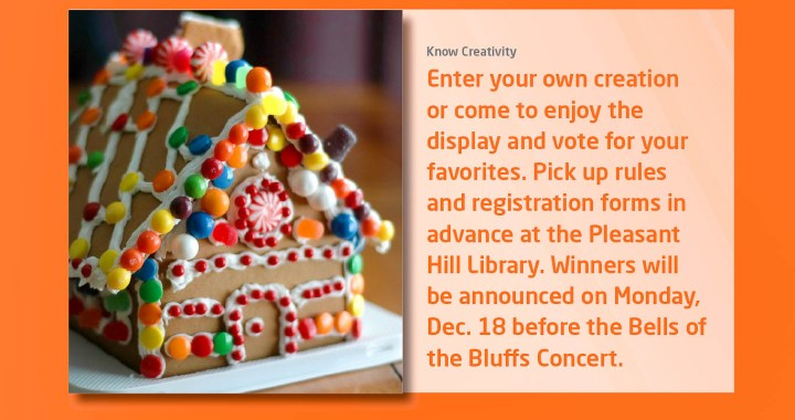 ad for gingerbread house contest