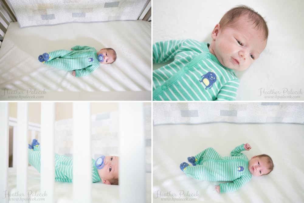 Lifestyle newborn session at home new jersey