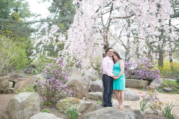 Maternity-Session-Sayen-Gardens-Cherry-Blossoms