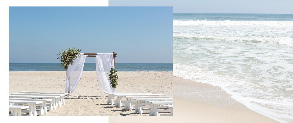 Vow Renewal on Beach LBI NJ