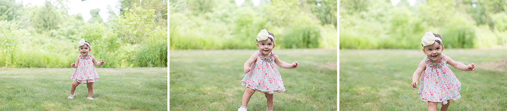 Outdoors First Birthday Portraits