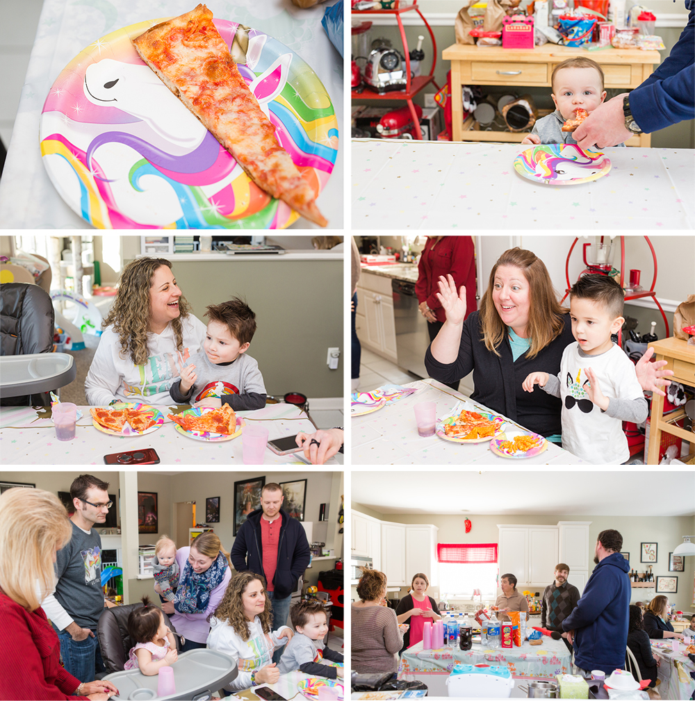 unicorn themed 1st birthday party