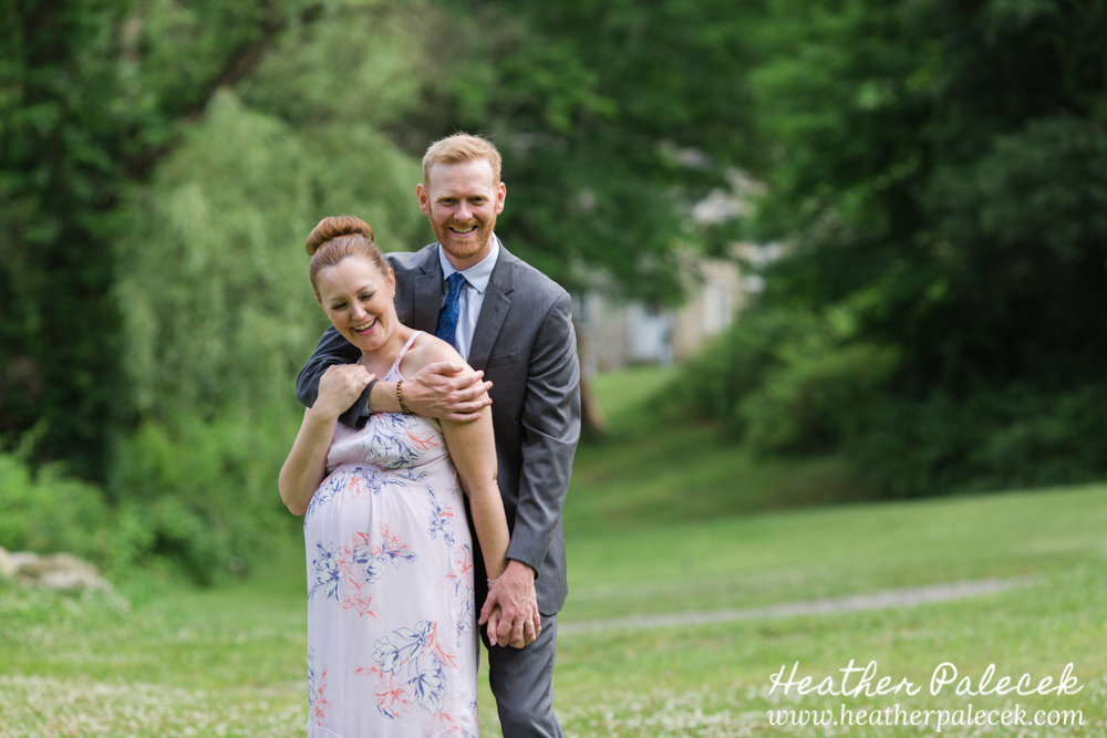 Maternity Session Waterloo Village Sussex County NJ