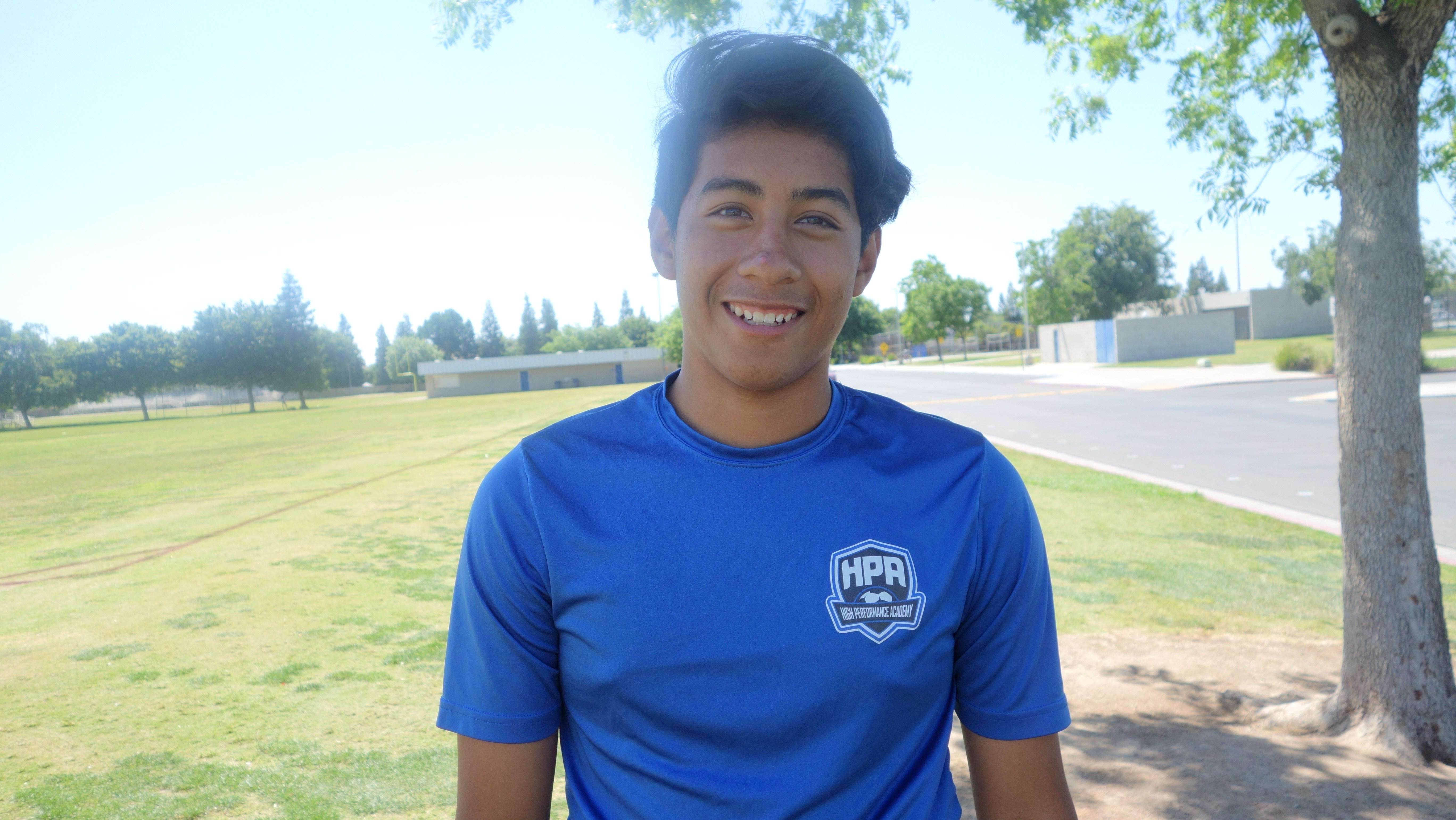 Julian Garcia helps win the Manteca Invitational Tournament! - HPA Nation