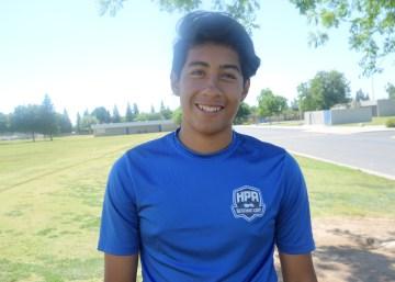 Julian Garcia helps win the Manteca Invitational Tournament!