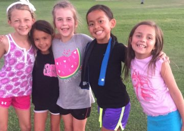 Physiomotion joins Female Only Soccer Camp!