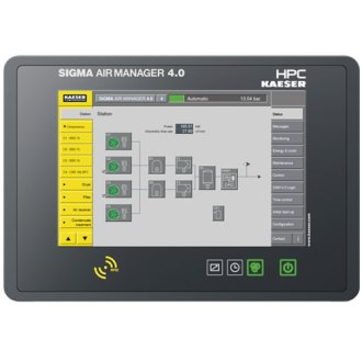 HPC   Compressed Air Systems   Home SIGMA Air Manager 4 0  SAM 4 0    Master Controller