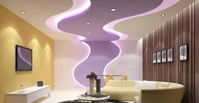 30 BEST Modern Gypsum Ceiling Designs for Living room ...