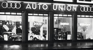 The Auto Union was formed in 1932