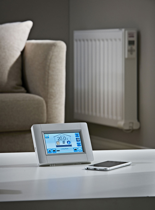 New wireless programmer availble for Electrorad's electric radiators