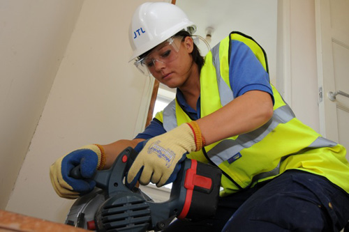 The new funding rules affect electrical, heating and plumbing businesses.