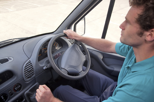 Van drivers will be affected by huge insurance rises.
