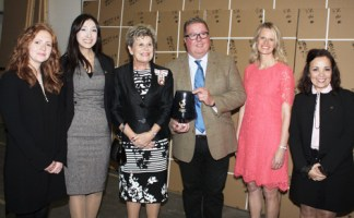 Roman's International Team with David Osborne and Sue Snowdon the Lord Lieutenant of County Durham