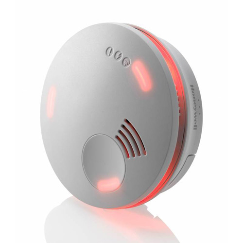 For Home Fire Safety Week, GAS has got an offer to extinguish all others. A Honeywell XS100 fire alarm usually retails for around £18.99, but is now on offer for only £9.95 plus VAT