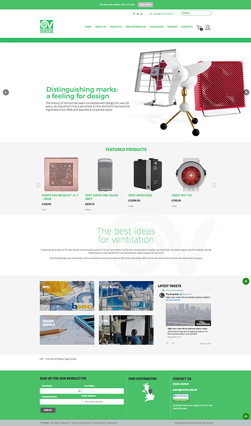 The website will help customers with an array of product information