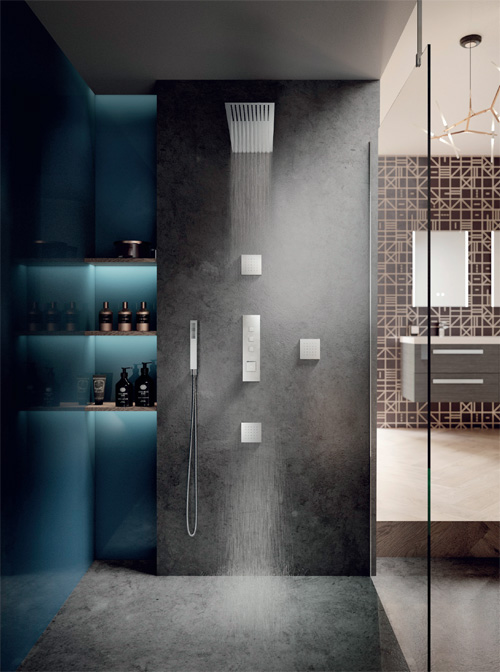 'Push-Button' showers called 'Ignite'