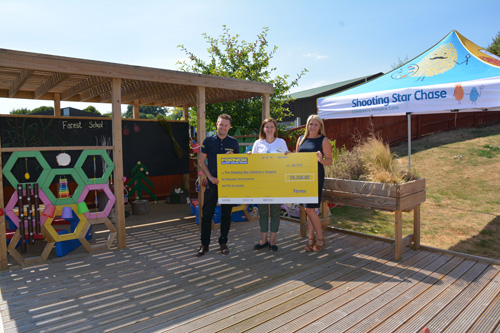 Fernox raised £6,356 for Shooting Star Chase