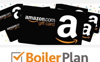 A £200 Amazon vouchers is up for grabs thanks to Boiler Plan UK