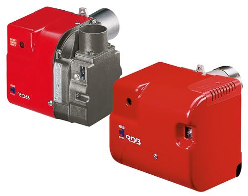 The new Riello RDB BX and BG burners