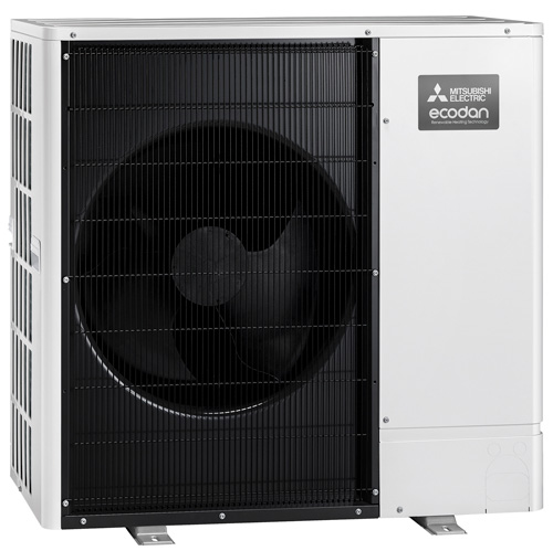 Mitsubishi Electric's Ultra Quiet Ecodan PUHZ-AA range has been presented with a Red Dot Award