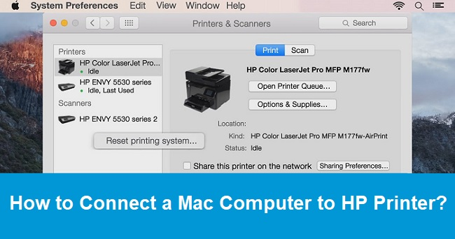 How To Connect A Mac Computer To Hp Printer Call 888 902 8333