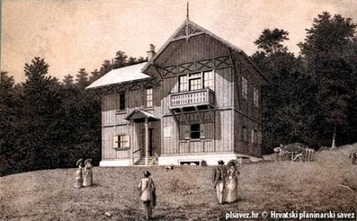 Gradska kuća na Sljemenu, naš prvi planinarski dom