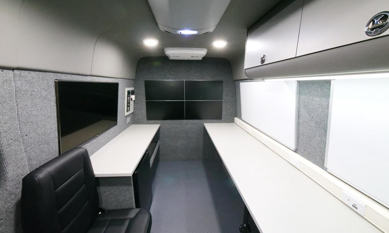 Mobile Command Center Conversions Vans Commercial