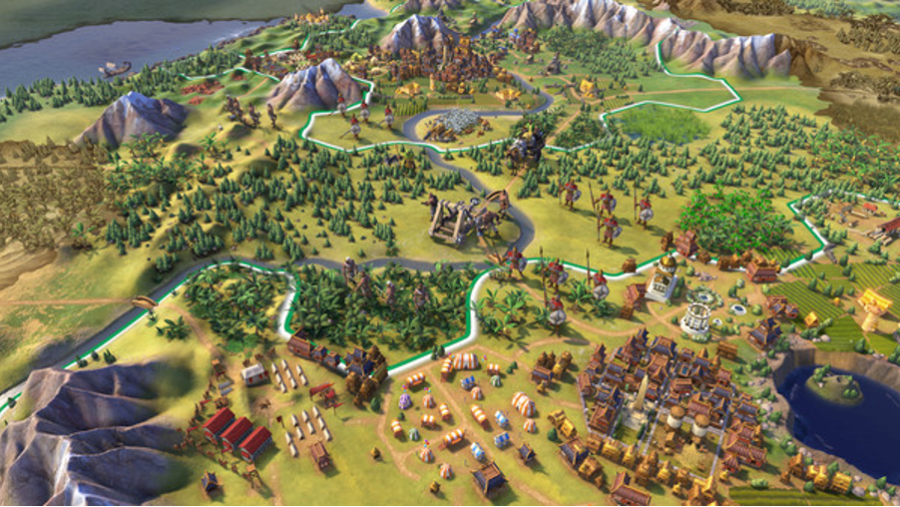 Games like Age of Empires - Sid Meier's Civilisation