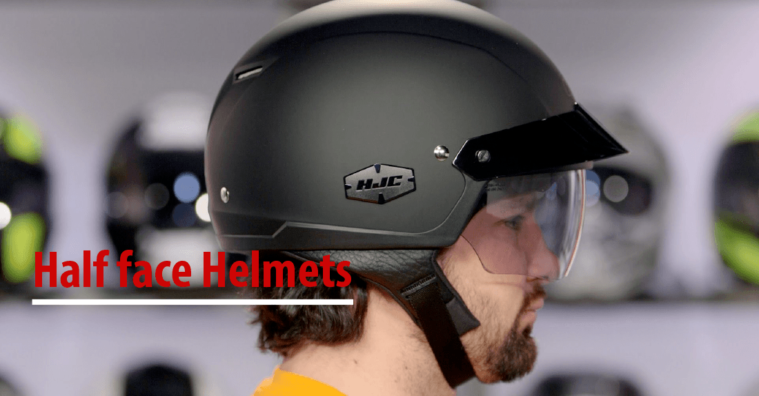 best half face motorcycle helmet