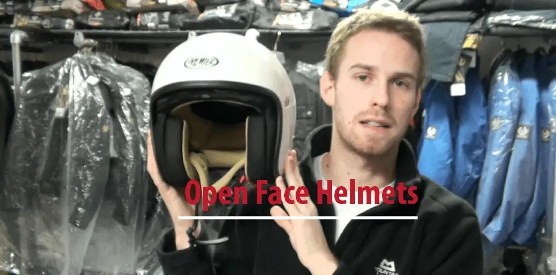 Best open face helmet or best 3/4 helmet
